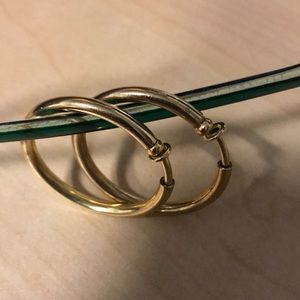 Jewelry - Gold plated Hoops